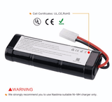 4000mAh 7.2v NiMH  Battery for Car  Helicopter Boat