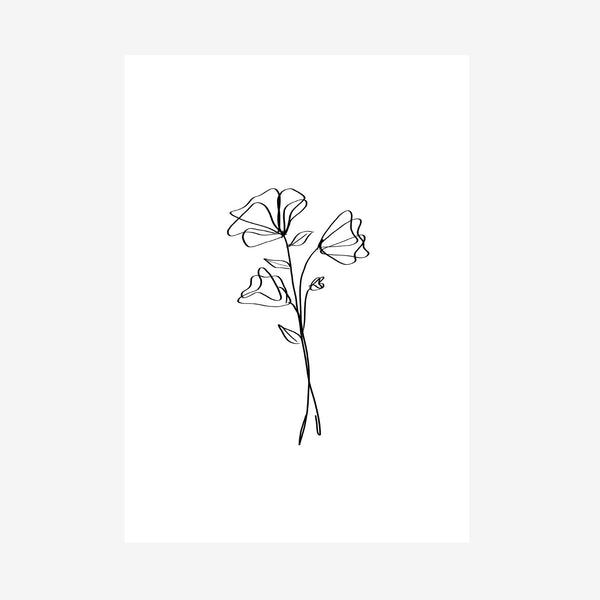 botanical one print