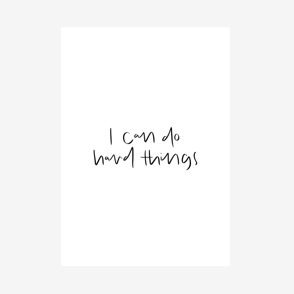 i can do hard things [printable]