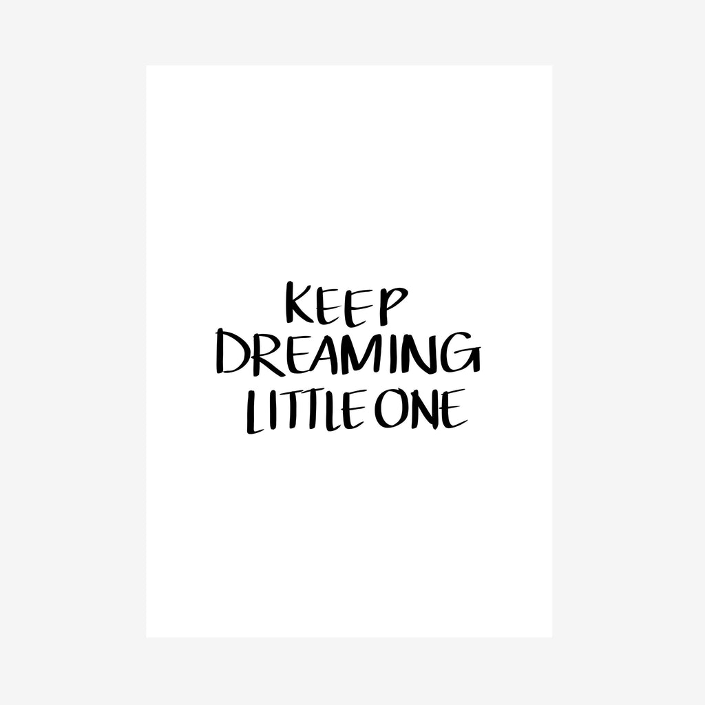 keep dreaming little one nursery downloadable [caps]