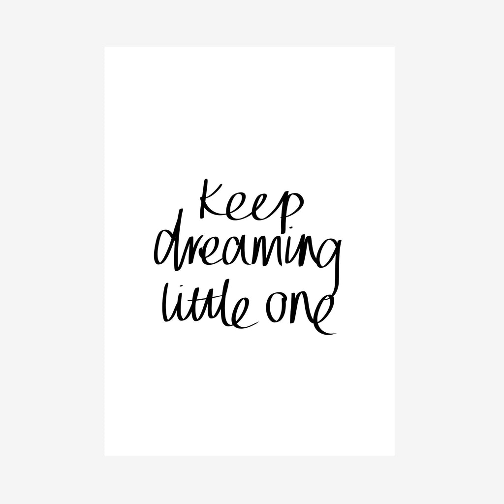 keep dreaming little one nursery downloadable