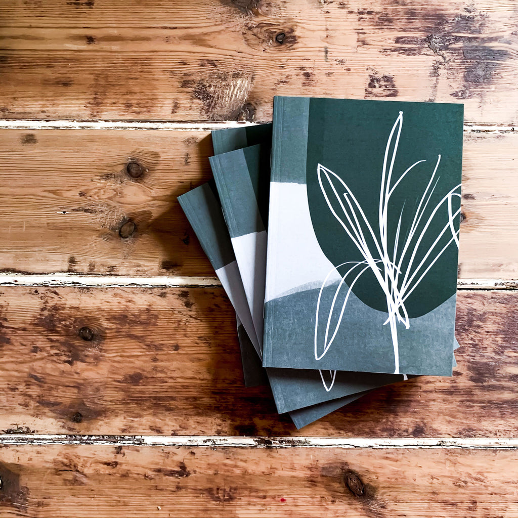 olive garden recycled notebook