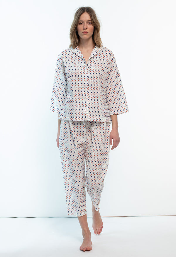Alice Town Pajamas in Printed Patterns