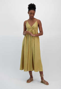 Adelaide Dress in Linen
