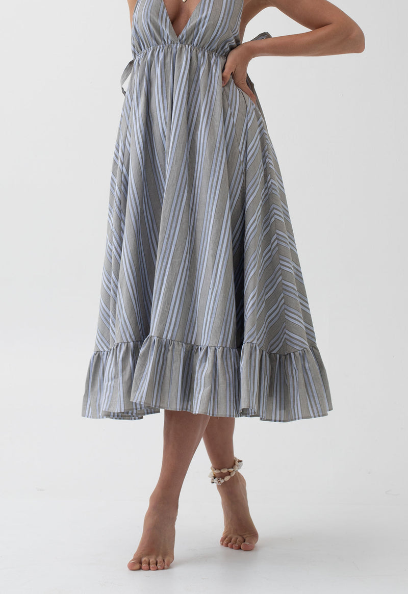 Amalfi Sundress in Stripes