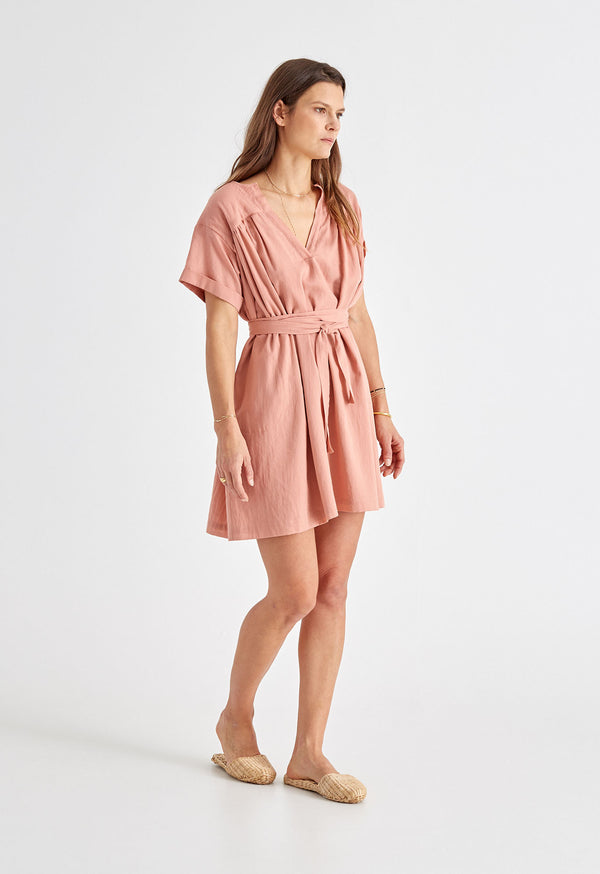 Antigua Dress in Rose