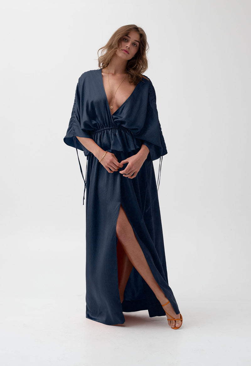 Athena Gown in Midnight