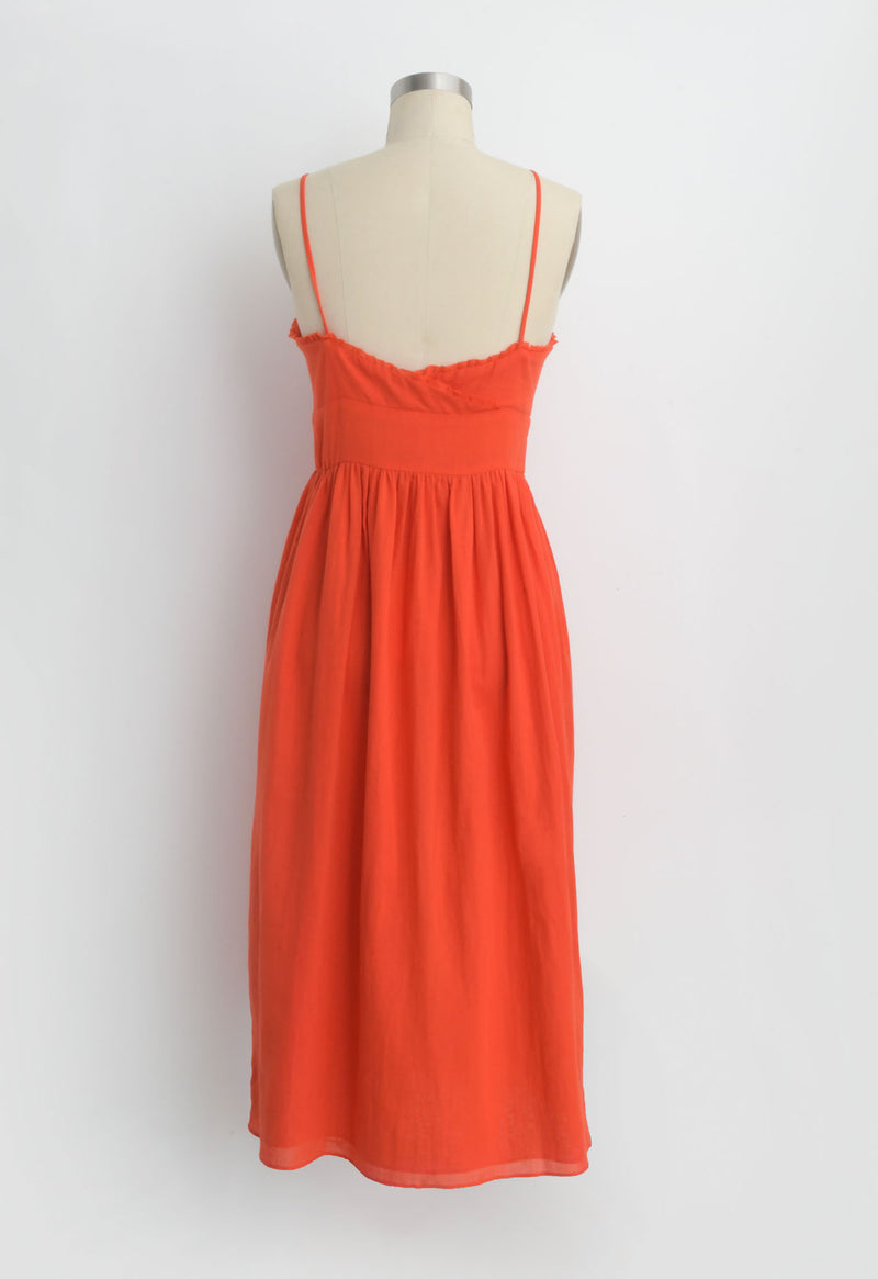 Avalon Dress in Coral