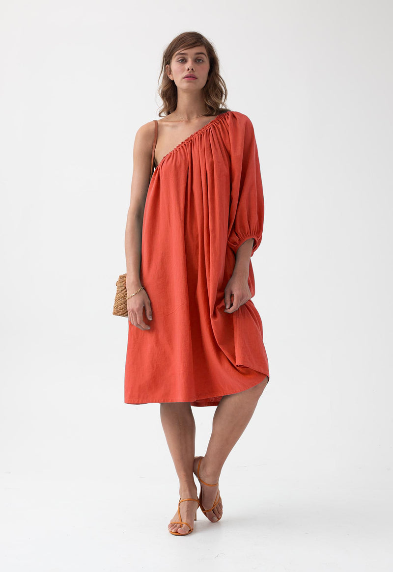Azores Dress in Vivid Hues
