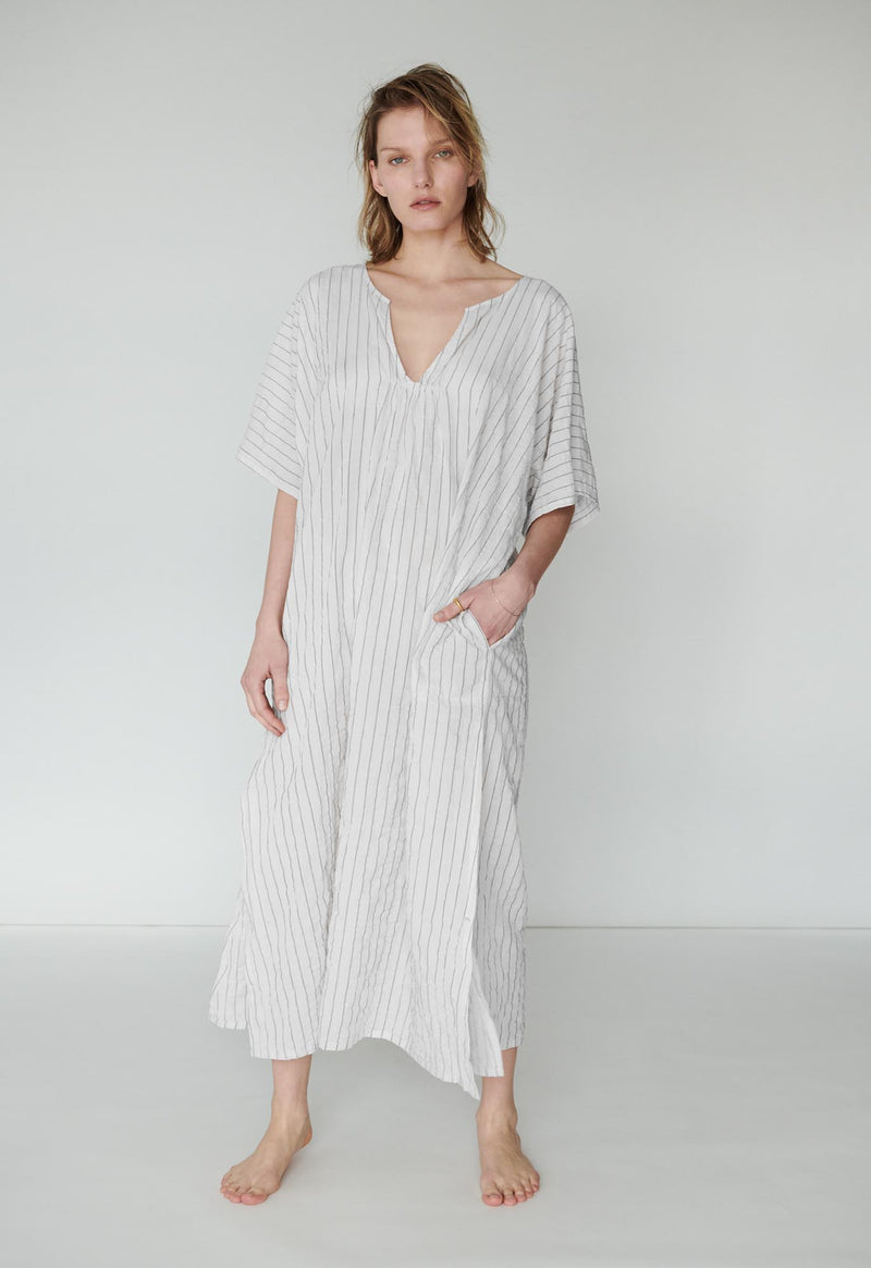 Belek Kaftan in Classic Stripes