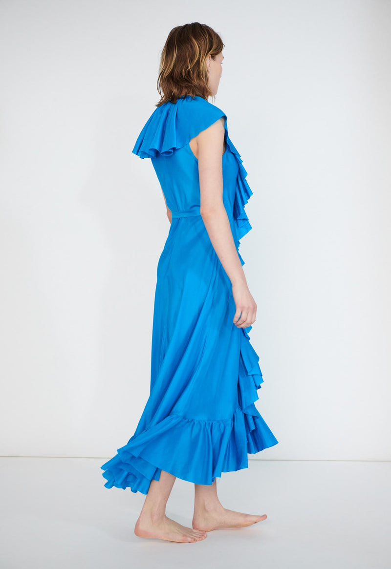 Callela Dress in Softwashed Silk