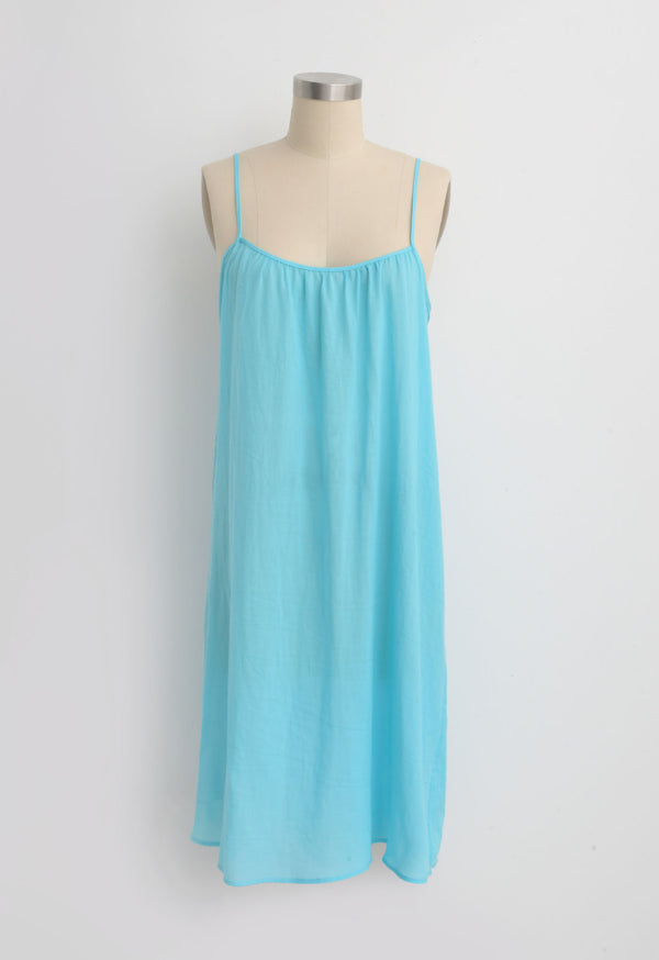 Classic Slip in Pool Blue