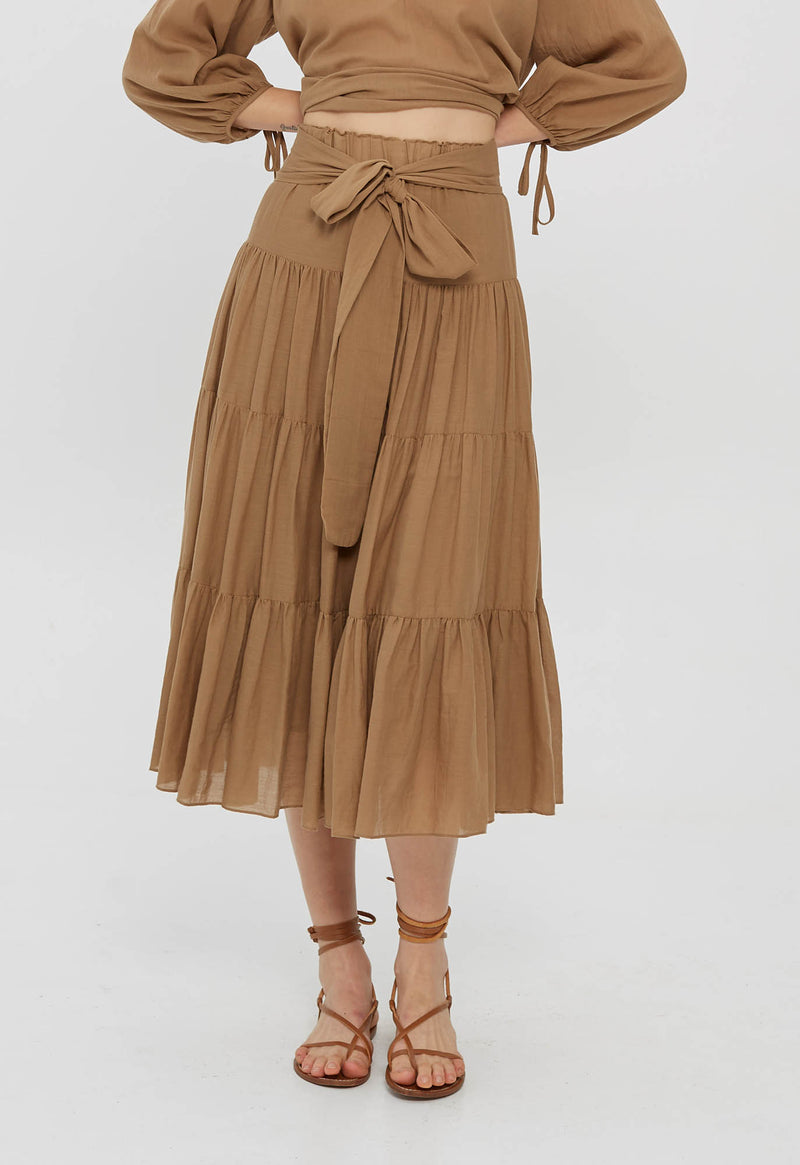 Demeter Skirt in Soft Colors