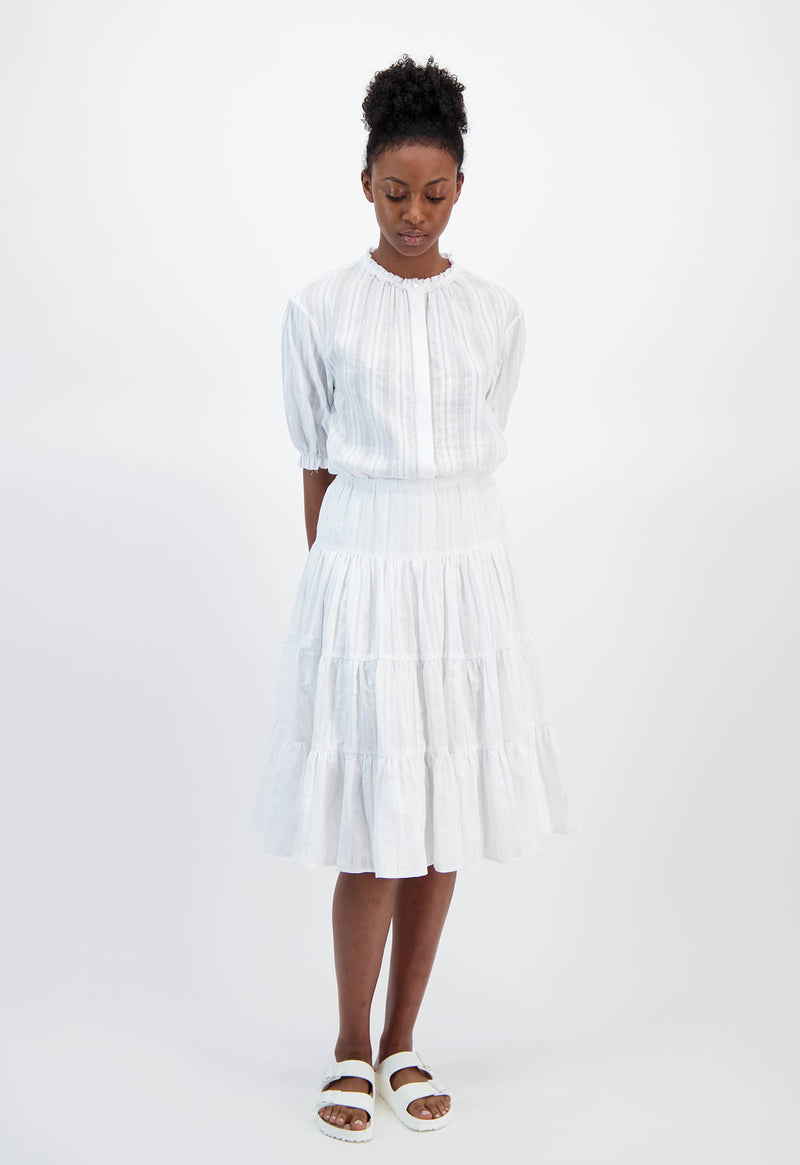 Falco Skirt Jacquard Stripe