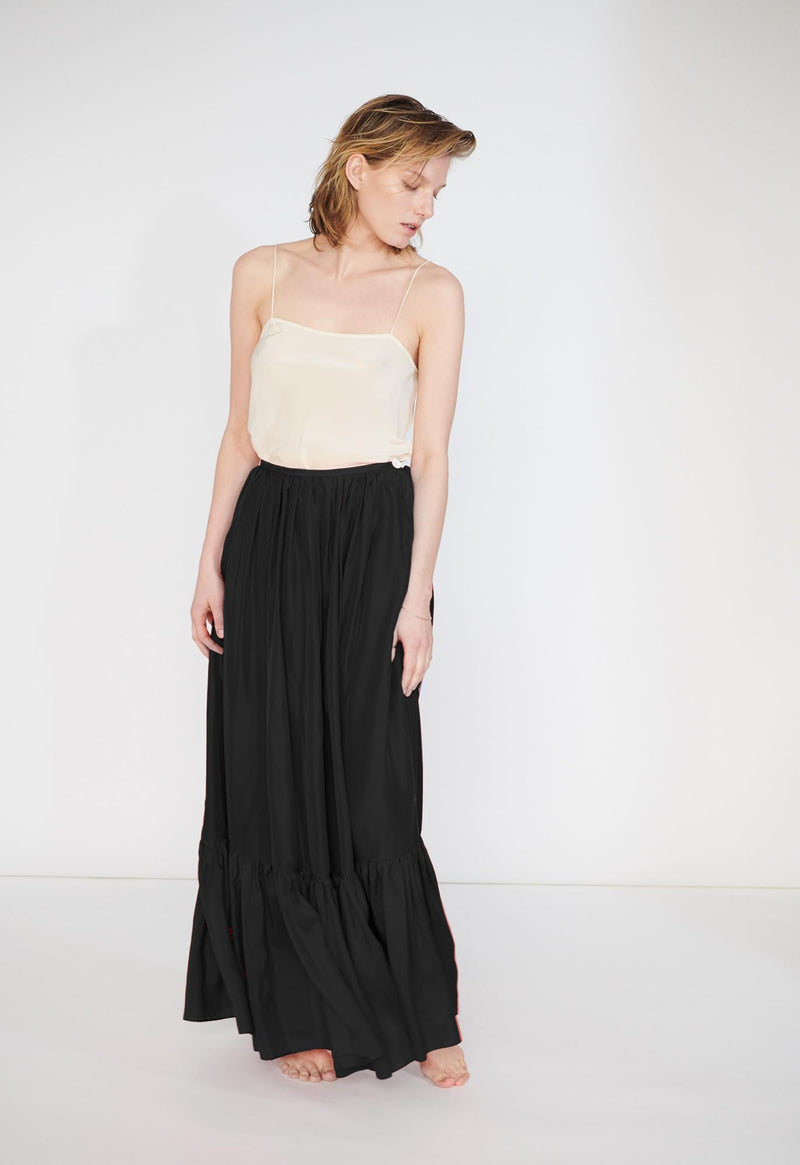 Flores Maxi Skirt in Cotton