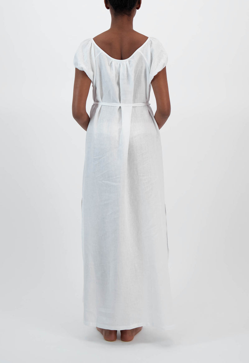 Fortuna Gown in Linen