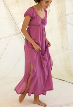 Fortuna Gown in Raspberry