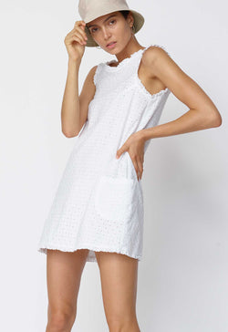 Gidget Dress in Broderie Anglaise