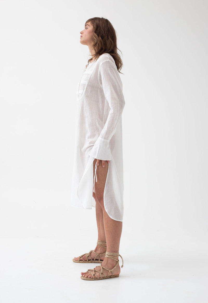 Heron Tunic in Lace Jacquard