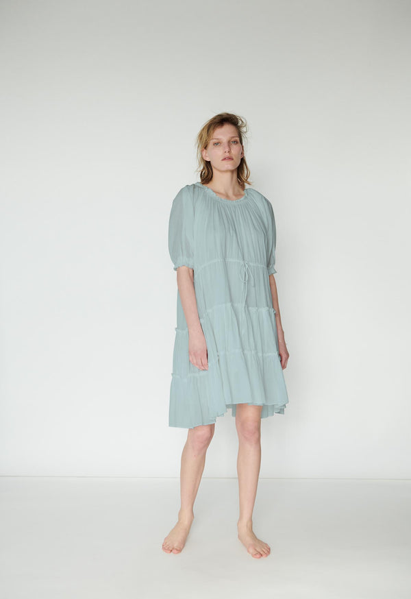 Kassos Dress in Seaglass