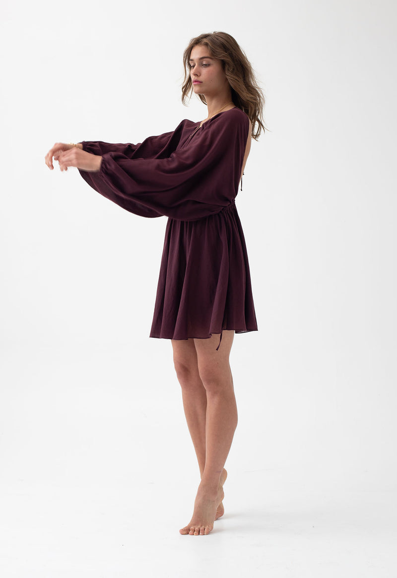 Kitta Dress in Raisin