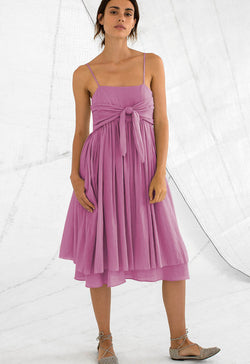 Lily Sundress in Raspberry