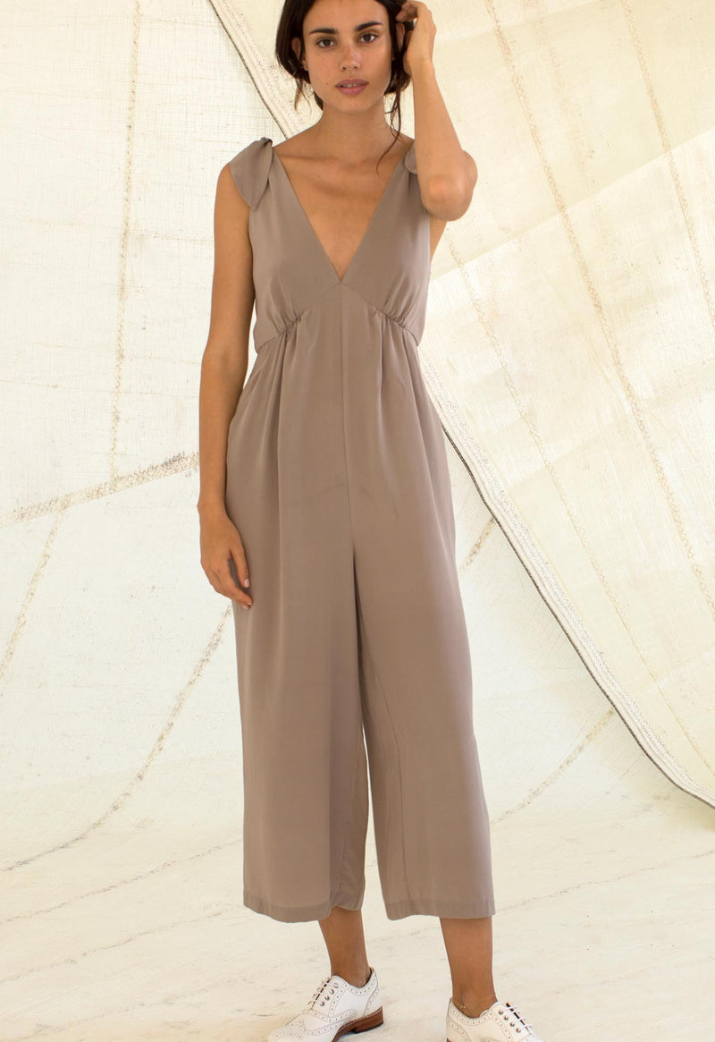 Lookout Jumpsuit in Silk