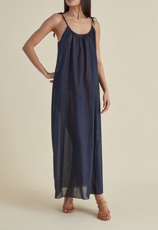 Maxi Slip in Midnight
