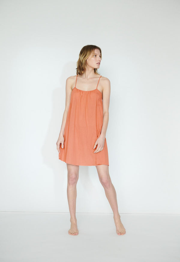 Mini Slip in Terracotta