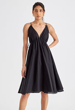Oleta Dress in Black