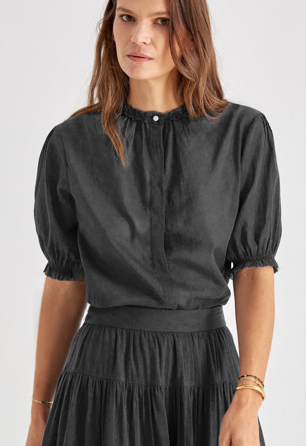 Pico Blouse in Black