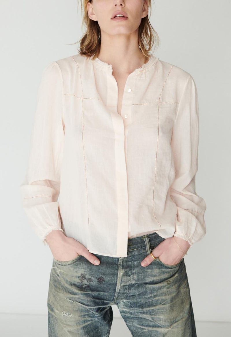 Palla Hemstitch Blouse