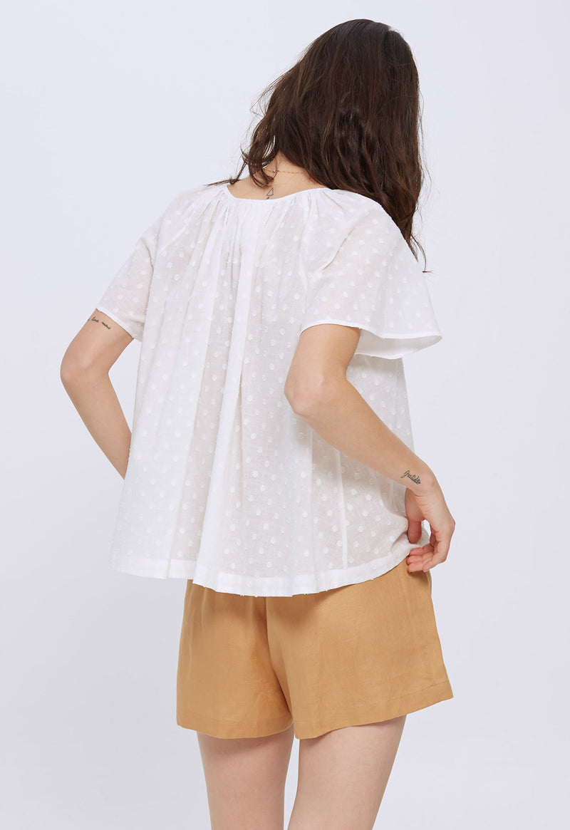 Paloma Top in Swiss Ellipse