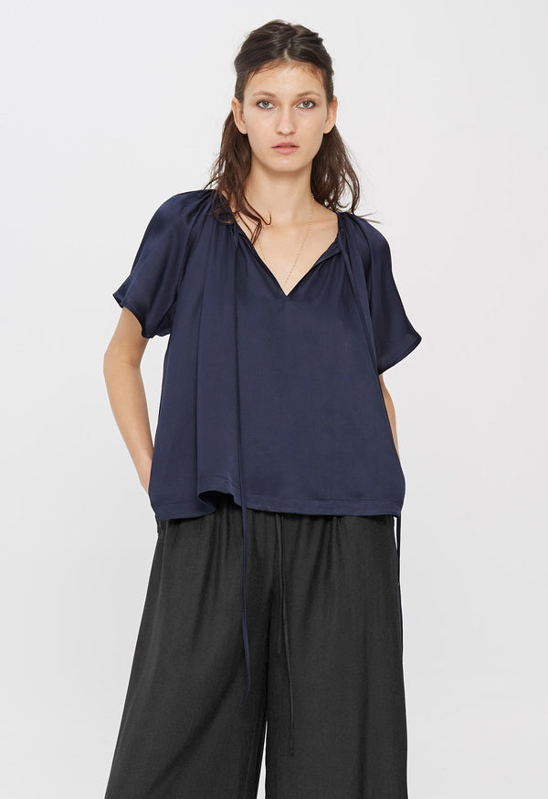 Paloma Top in Midnight