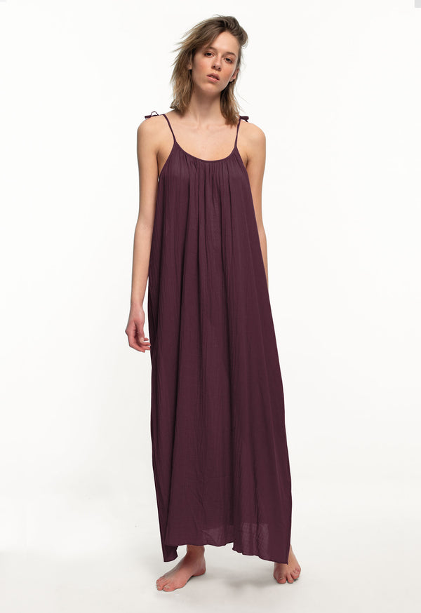 Maxi Slip in Muted Tones