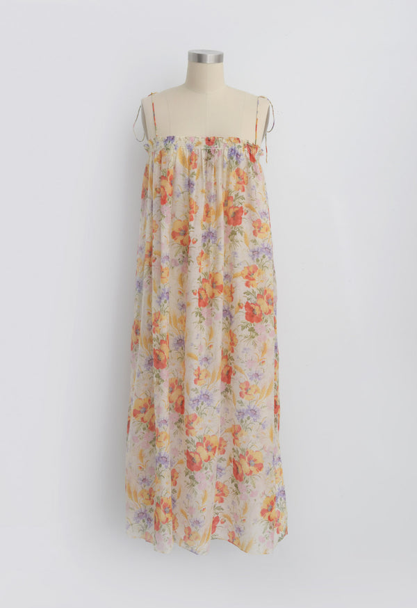 Rimini Dress in Tuscan Floral
