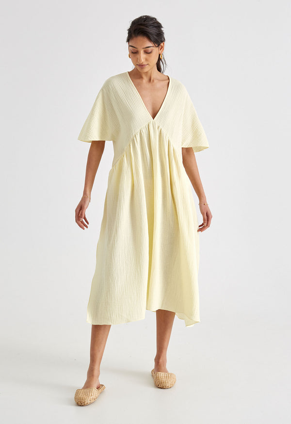 Riva Kaftan in Lemon Twist