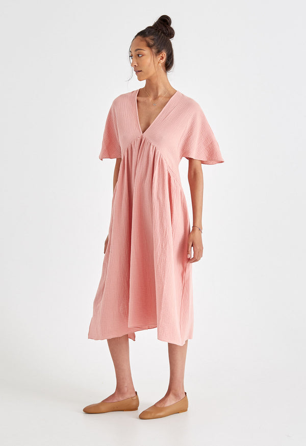 Riva Kaftan in Powder Pink