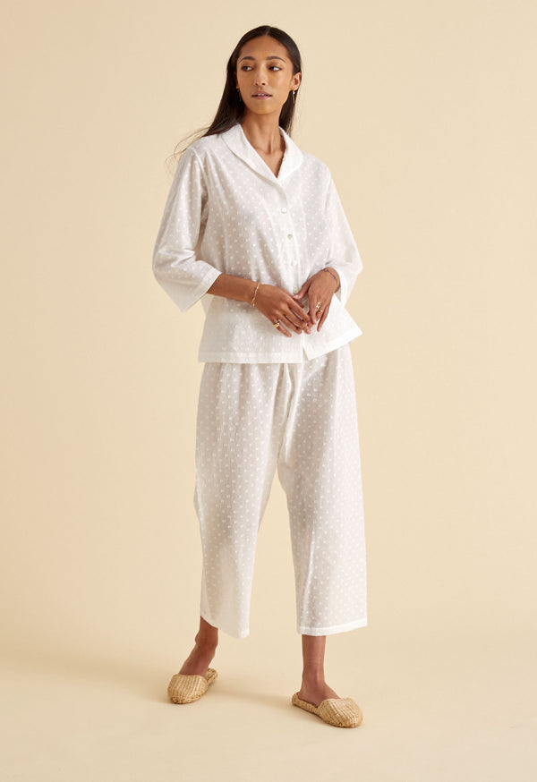 Alice Town Pajamas in Swiss Ellipse