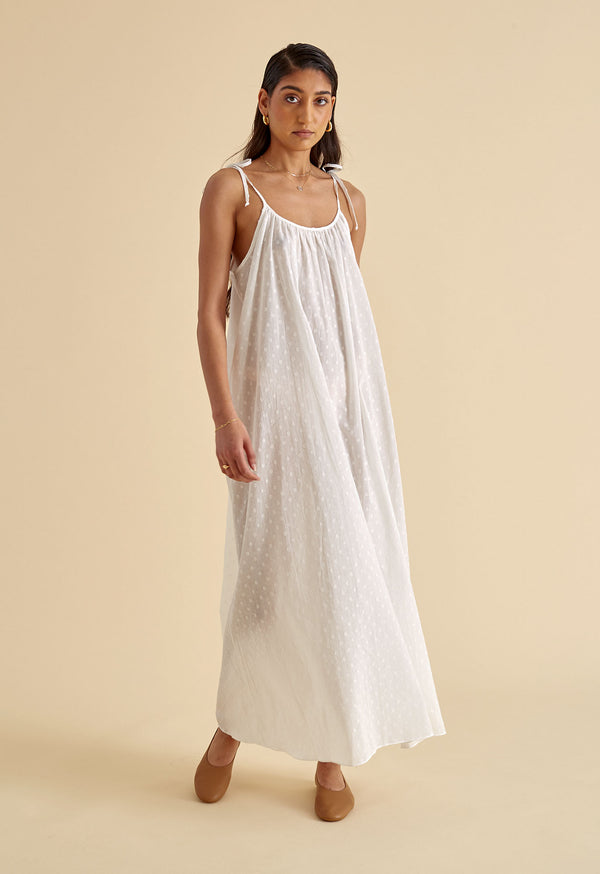 Maxi Slip in Swiss Ellipse