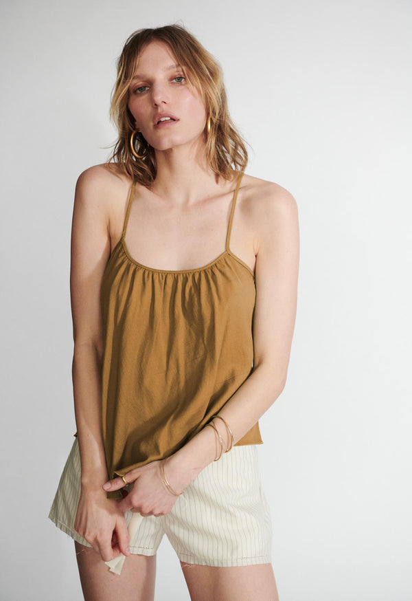 Scoop Tank in Camel