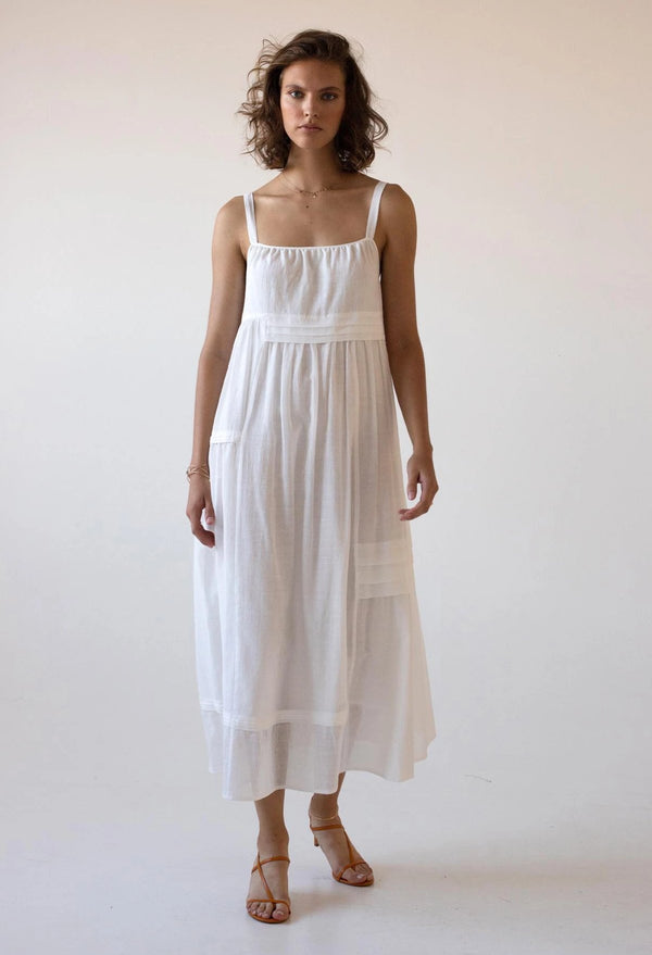 Kotor Sundress in Lace Jacquard