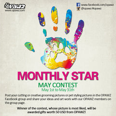 May Contest - Be OPAWZ Monthly Star