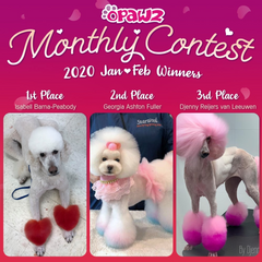 Monthly Grooming Contest Competition Grooming  - OPAWZ.com