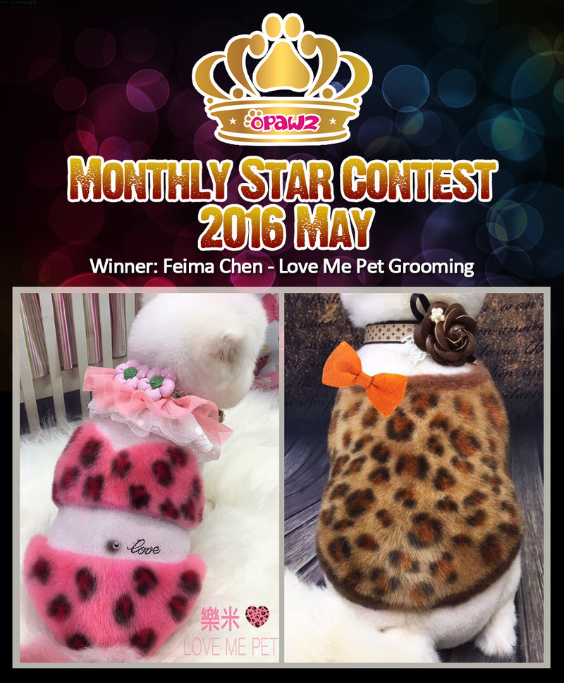 May Monthly Star – Congratulations!