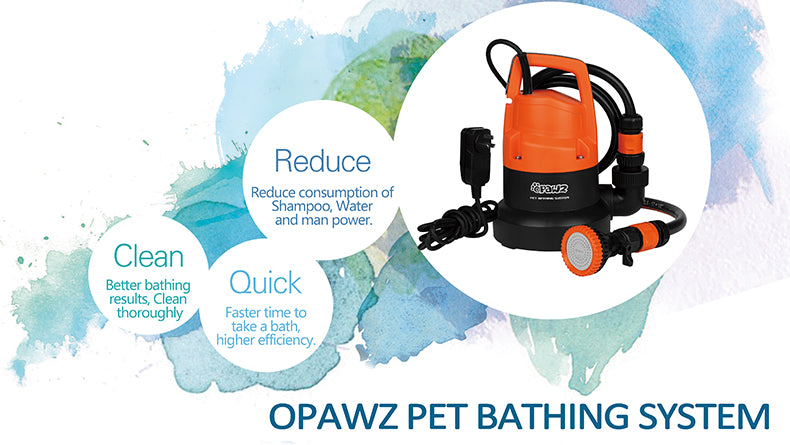 opawz pet bathing system