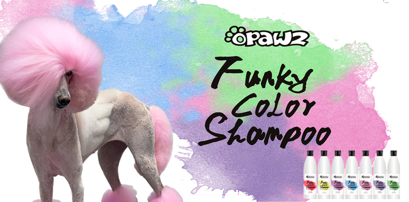 Funky Pet Color Shampoo – Color It Simple with OPAWZ