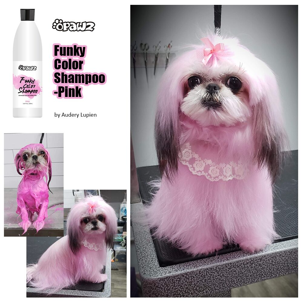 Funky Color shampoo pink
