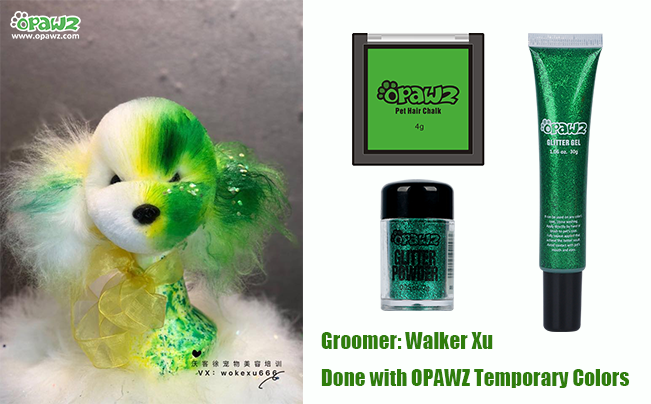 Walker Xu with OPAWZ Temporary Colors