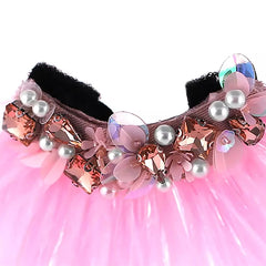 Pink Feather Slider - B037-P